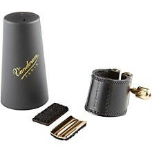 Leather Saxophone Ligature with Cap Alto Sax with Plastic Cap