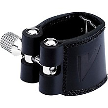 Leather Saxophone Ligature with Cap Bari Sax, For V16 mtp, with Plastic Cap