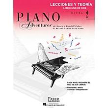 Faber Piano Adventures Lecciones y Teoria - Libro Uno de Dos Nivel 2 Faber Piano Adventures Series Softcover by Randall Faber