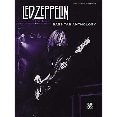 Alfred Led Zeppelin - Bass Tab Anthology Book