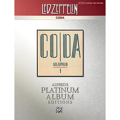 Alfred Led Zeppelin - Coda Platinum Guitar Book