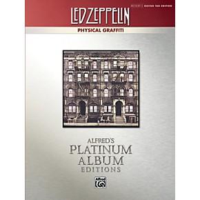 alfred led zeppelin physical graffiti platinum guitar tab book musician 39 s friend. Black Bedroom Furniture Sets. Home Design Ideas