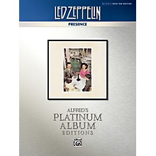 Alfred Led Zeppelin - Presence Platinum Bass Guitar TAB Book