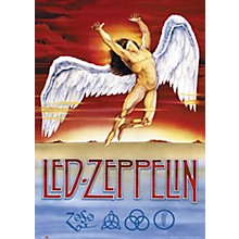 Hal Leonard Led Zeppelin - Swan Song - Wall Poster