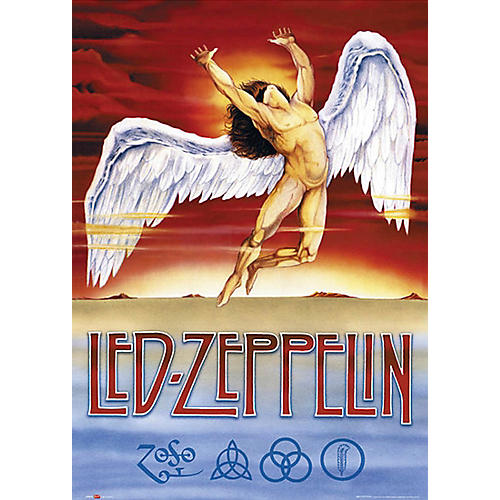 Hal Leonard Led Zeppelin - Swan Song - Wall Poster