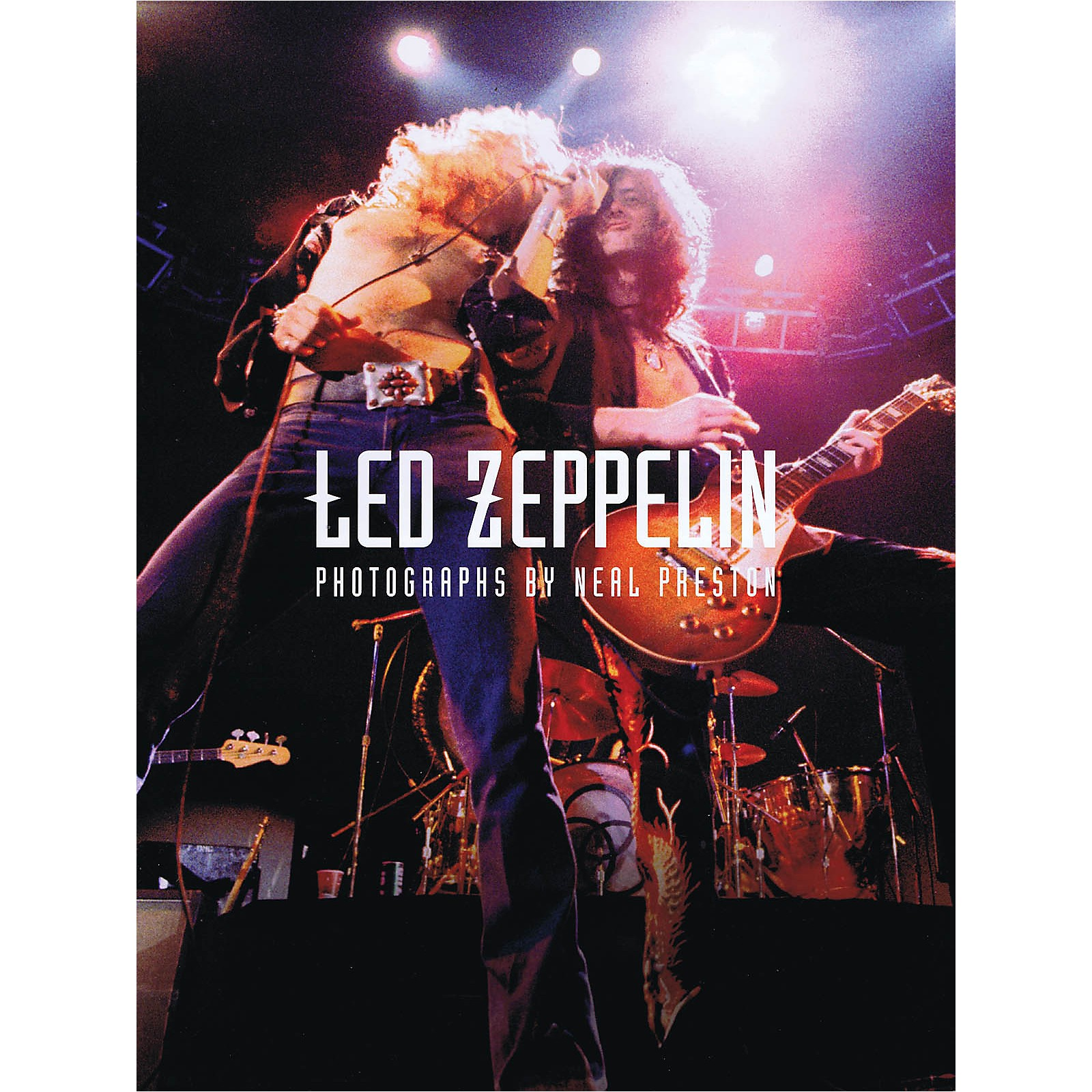 Omnibus Led Zeppelin - The Neal Preston Collection Omnibus Press Series Softcover