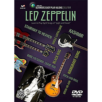 Alfred Led Zeppelin - Ultimate Easy Guitar Play-Along DVD