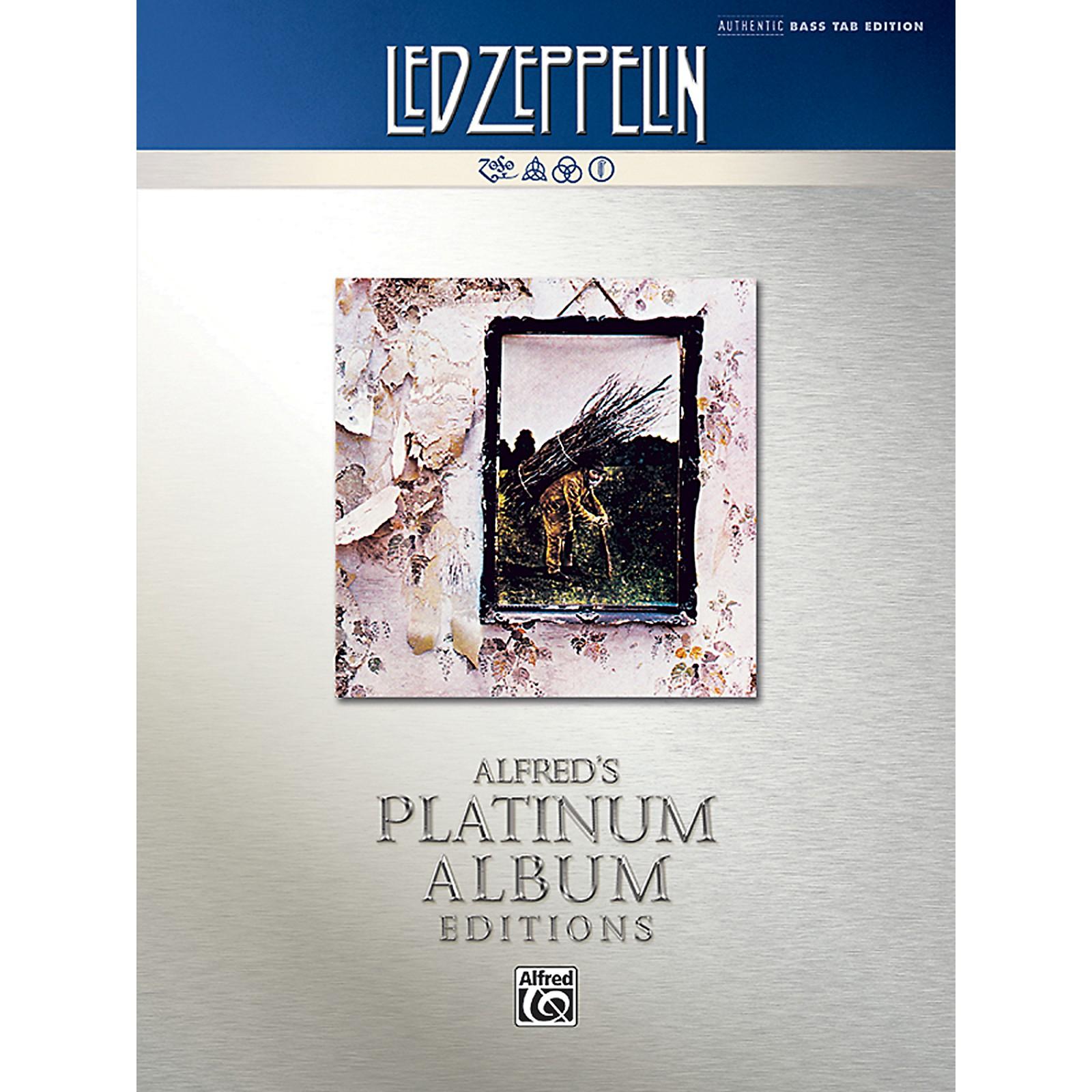 Alfred Led Zeppelin - Untitled (IV) Platinum Bass Guitar Book