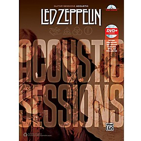 alfred led zeppelin acoustic sessions guitar tab songbook dvd musician 39 s friend. Black Bedroom Furniture Sets. Home Design Ideas