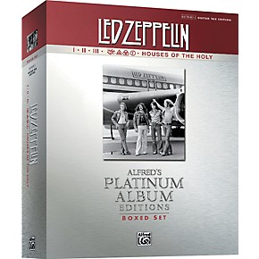 alfred led zeppelin box set i v guitar tab platinum edition books musician 39 s friend. Black Bedroom Furniture Sets. Home Design Ideas