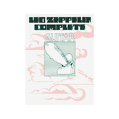 Alfred Led Zeppelin Complete Guitar Easy Book