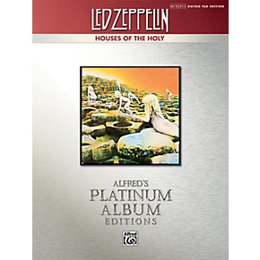 alfred led zeppelin houses of the holy guitar tab platinum edition book musician 39 s friend. Black Bedroom Furniture Sets. Home Design Ideas