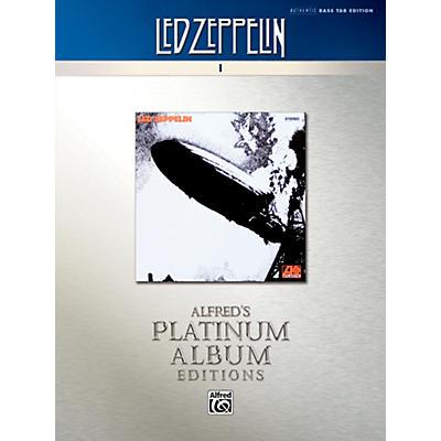 Alfred Led Zeppelin I Platinum Bass Guitar Book