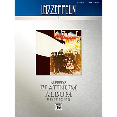 Alfred Led Zeppelin II Platinum Bass Guitar Book