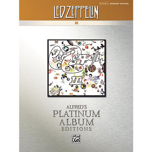 Alfred Led Zeppelin III Platinum Drums (Book)