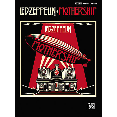 Alfred Led Zeppelin: Mothership - Drum Transcriptions (Book)