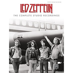 alfred led zeppelin the complete studio recordings hardcover authentic guitar tab edition. Black Bedroom Furniture Sets. Home Design Ideas