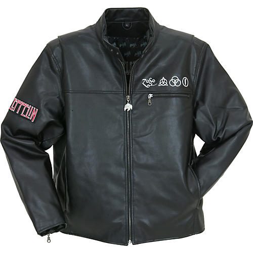 Bravado Led Zeppelin U.S. '77 Tour Mock Leather Jacket ...