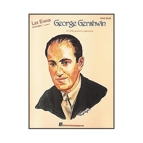 Hal Leonard Lee Evans Arranges George Gershwin Piano Solos