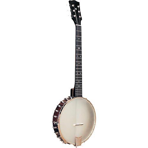 Left-Handed 6-String Banjo Guitar