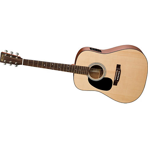 Martin Left-Handed D1-E Acoustic-Electric Guitar