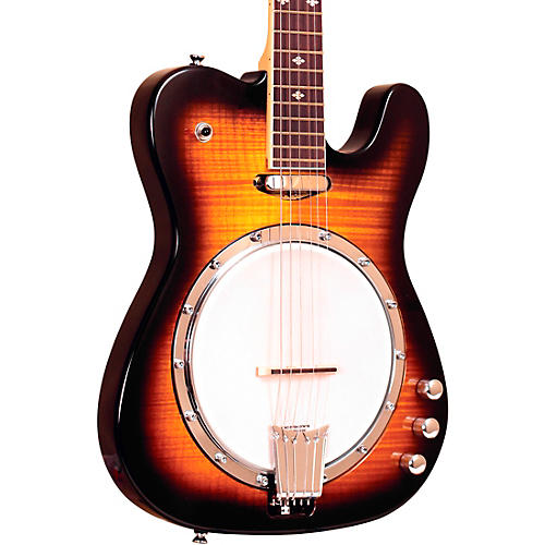 Gold Tone Left-Handed Electric Solid Body Banjitar