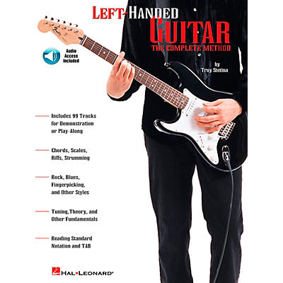 Hal Leonard Left-Handed Guitar Book/Online Audio