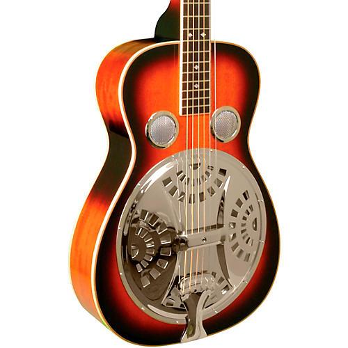 Gold Tone Left-Handed Paul Beard Squareneck S-Mahogany Resonator Guitar Tobacco Sunburst
