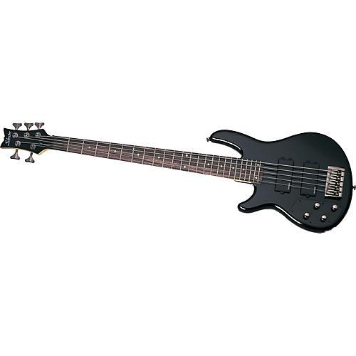 Schecter Guitar Research Left-Handed Raiden Custom-5 5-String Electric Bass Guitar