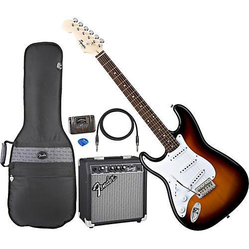 Fender Left-Handed Stratocaster Electric Guitar Pack