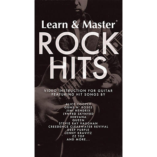 Hal Leonard Legacy Learning Learn & Master Rock Hits 10-disc set