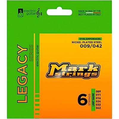 Markbass Legacy Series Nickel Plated Steel Electric Strings (9-42)