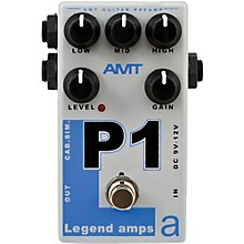 Open Box AMT Electronics Legend Amps Series P1 Distortion Guitar Effects Pedal