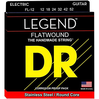 DR Strings Legend Light Flatwound Electric Guitar Strings