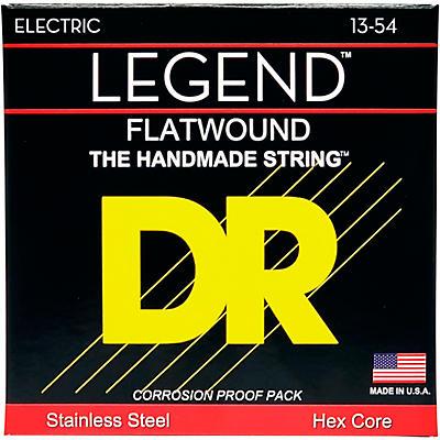 DR Strings Legend Medium Flatwound Electric Guitar Strings