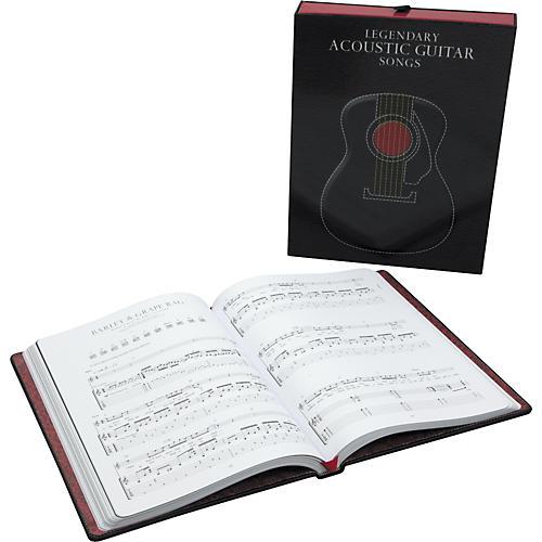 Music Sales Legendary Acoustic Guitar Songs (Songbook)