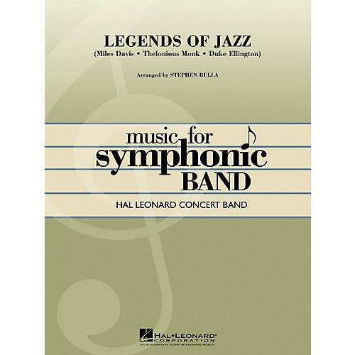 Hal Leonard Legends Of Jazz - Hal Leonard Concert Band Series Level 4