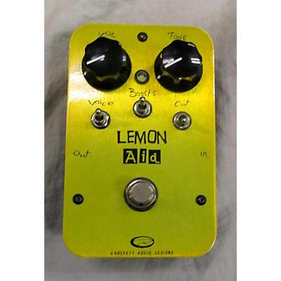 Rockett Pedals Lemon Aid Effect Pedal
