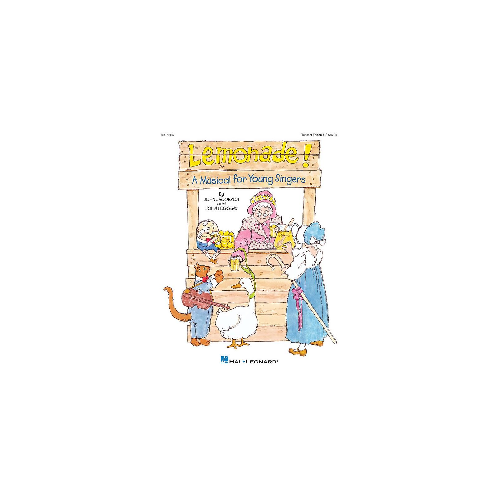 Hal Leonard Lemonade! (Musical) PREV CD Composed by John Higgins