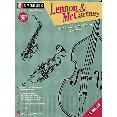 Hal Leonard Lennon And McCartney - Jazz Play Along Volume 29 Book with CD