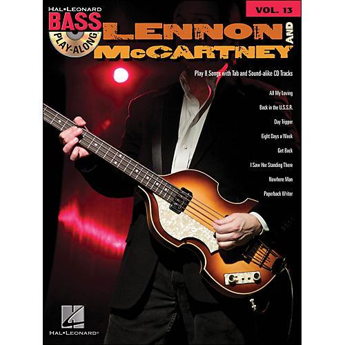 Hal Leonard Lennon & McCartney - Bass Play-Along Volume 13