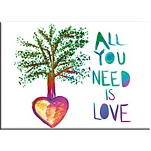 C&D Visionary Lennon & McCartney All You Need Is Love Tree Magnet