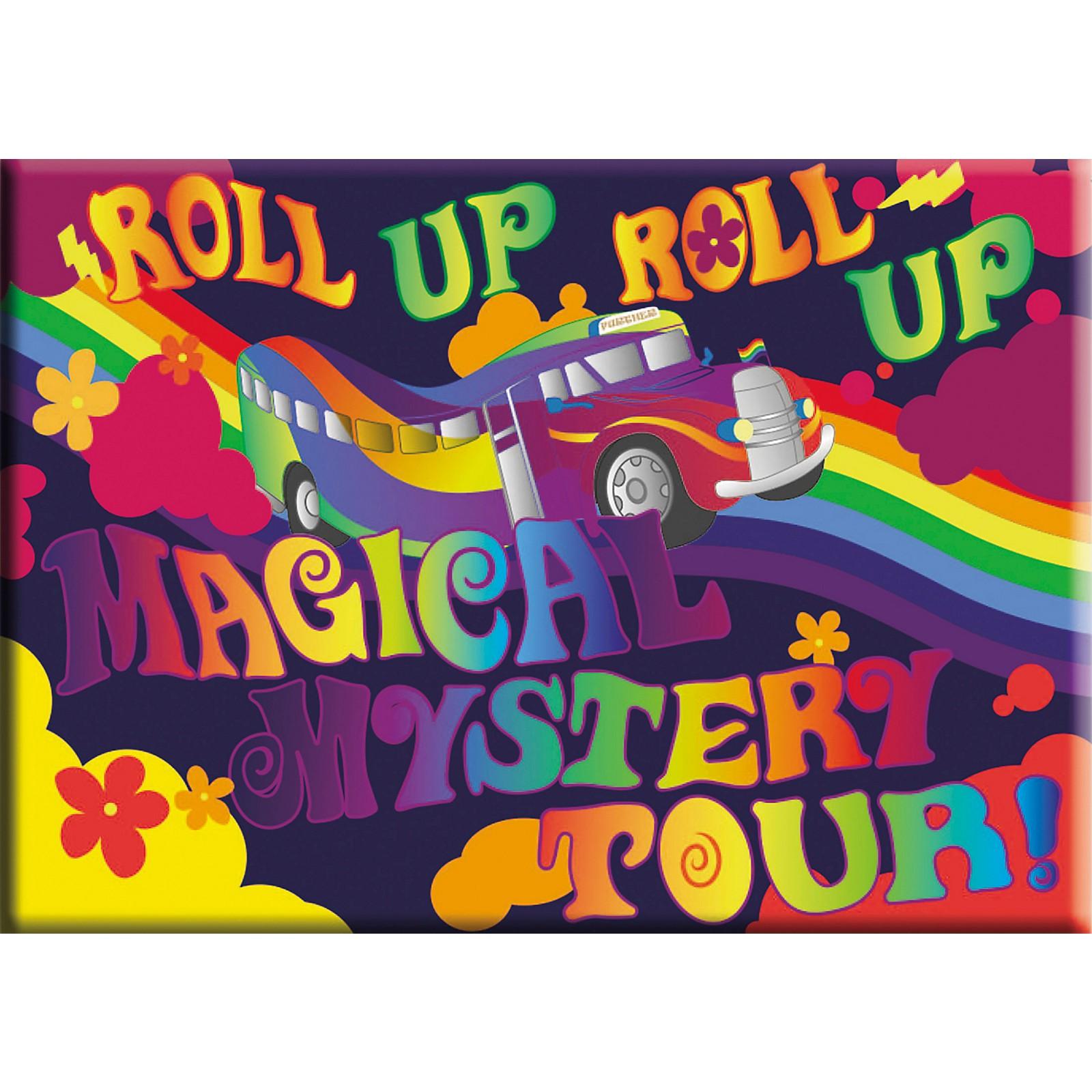 C&D Visionary Lennon & McCartney Mystery Tour Magnet