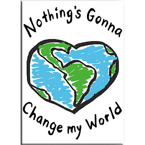 C&D Visionary Lennon & McCartney Nothing's Gonna Change My World Magnet