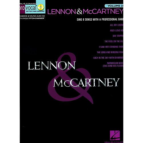 Hal Leonard Lennon & McCartney Vol 4 - Pro Vocal Songbook & CD Volume 25