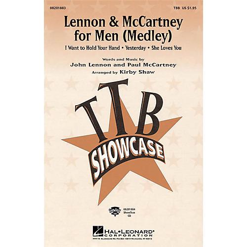 Hal Leonard Lennon & McCartney for Men (Medley) ShowTrax CD Arranged by Kirby Shaw
