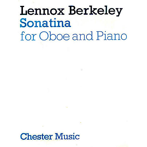 Music Sales Lennox Berkeley: Sonatina For Oboe And Piano Music Sales America Series