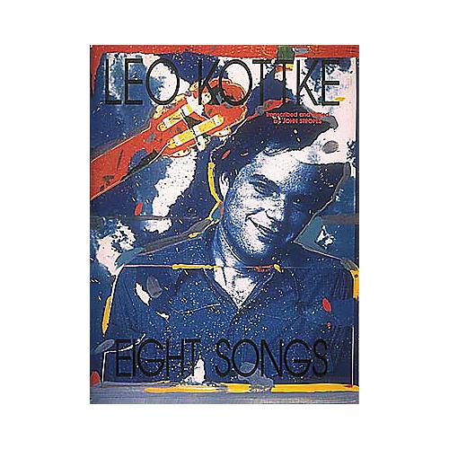 Hal Leonard Leo Kottke - Eight Songs Transcribed Score Book