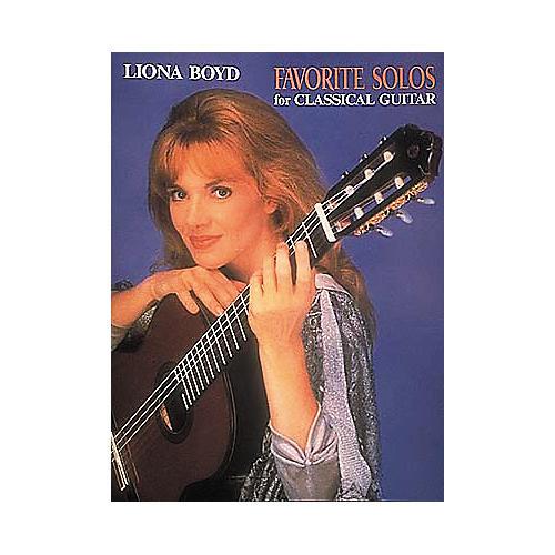 Hal Leonard Leona Boyd Favorite Solos for Classical Guitar Book