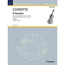Schott Les Délices de la Solitude, Op. 20 (Six Sonatas - Volume 1) Schott Series